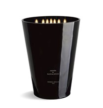 7 wick 3XL Candle 15.4 lb Amber & Sandalwood X5002