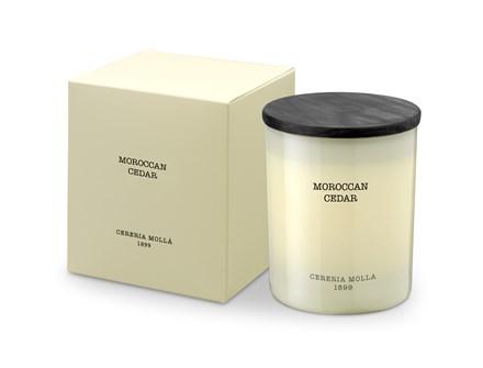 Boutique Candle 8oz Moroccan Cedar 5545